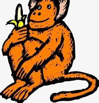 pngtree-banana-monkey-watching-png-clipart_1885883
